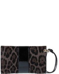 f6ebdd30825 ... Jimmy Choo Rivera S Leopard Print Clutch Bag