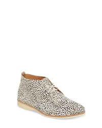 Rollie Chukka Genuine Calf Hair Bootie