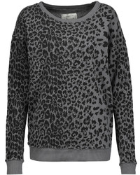 Current/Elliott The Greta Printed Cotton Sweatshirt