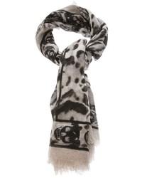 Skull print scarf medium 1355543