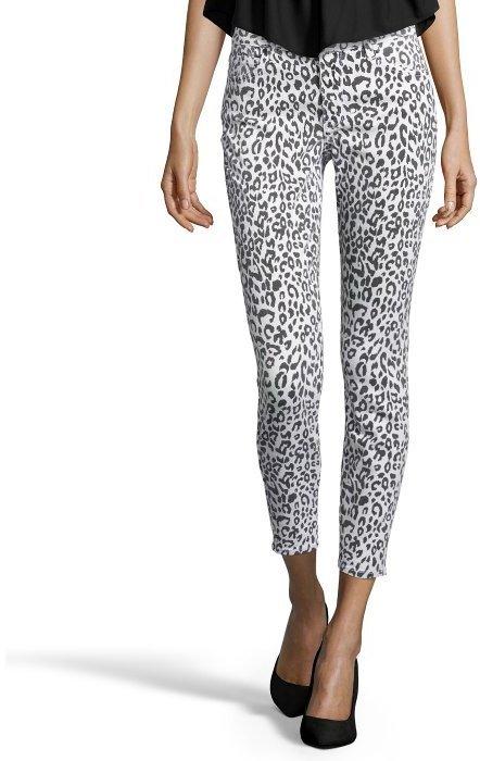 At Ita R 13 Kate Leopard Print Skinny Jeans