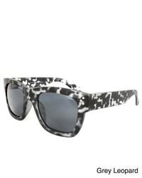 Apopo eyewear plastic leopard print sunglasses medium 208403