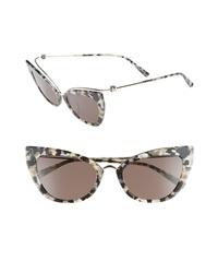 Max Mara Marilyn 53mm Cat Eye Sunglasses