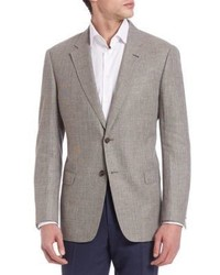 Long sleeve wool blend sportcoat medium 590651