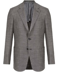 Brioni Notched Lapel Single Breasted Blazer
