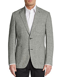 Slim fit linen blend sportcoat medium 223851