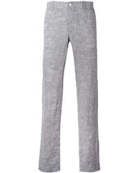 Grey Linen Chinos