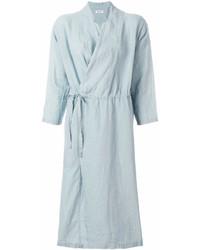 Drawstring waist duster coat medium 6990522