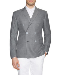 Chelsea double breasted solid sportcoat medium 453021