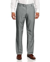 Kenneth Cole Reaction Linen Slim Fit Flat Front Dress Pant