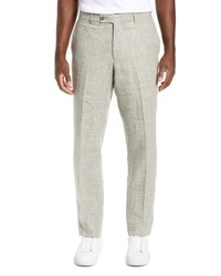 Nordstrom Men's Shop Melange Linen Trousers