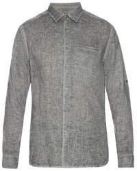 Long sleeved linen shirt medium 719686
