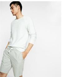 Express 10 Inch Linen Cotton Drawstring Shorts