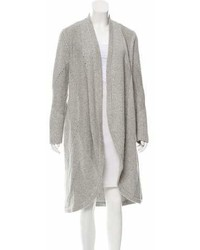 Helmut Lang Long Rib Knit Cardigan