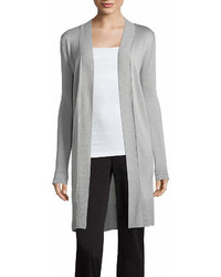 Worthington Worthington Long Sleeve Open Front Cardigan Petites