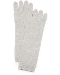 Grey Long Gloves