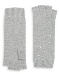 Portolano Knit Embellished Gloves