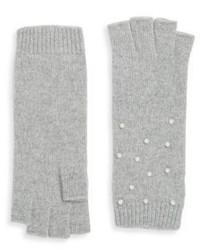 Portolano Knit Embellished Gloves