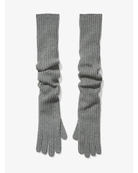 Michael Kors Michl Kors Cashmere Ribbed Gloves