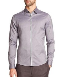 Saks Fifth Avenue Collection Solid Sportshirt