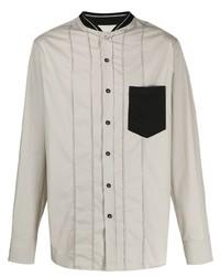 Lanvin Contrasting Chest Pocket Shirt
