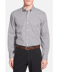 Epic easy care classic fit wrinkle free gingham sport shirt medium 302900