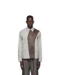 Kiko Kostadinov Grey Bindra Shirt