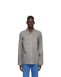 Maison Margiela Grey Gart Dyed Shirt