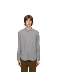 Maison Margiela Grey Gart Dyed Slim Shirt