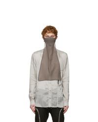 Rick Owens Grey Larry Shirt