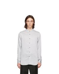 Giorgio Armani Grey Lyocell Shirt