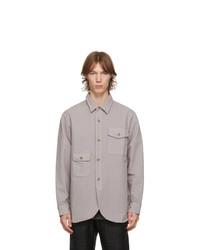 Han Kjobenhavn Grey Pocket Army Shirt