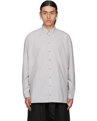 Toogood Grey The Draughtsman Shirt