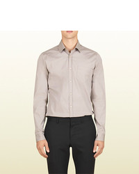 2cbf1ff2 ... Gucci Stretch Dyed Poplin Pocket Shirt From The Viaggio Collection