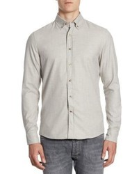 Brunello Cucinelli Leisure Fit Cotton Casual Button Down Shirt