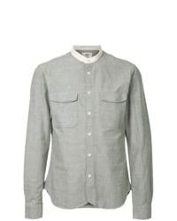 Kent & Curwen Mandarin Collared Shirt