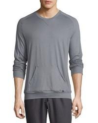 Paolo long sleeve shirt frost gray medium 739460