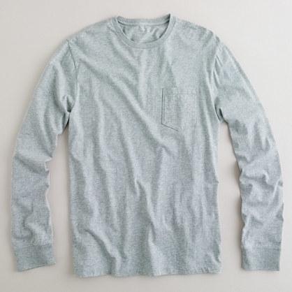 bdc1472a183a J.Crew Broken In Long Sleeve Pocket T Shirt, $29 | J.Crew ...