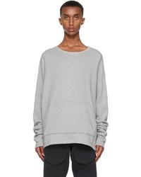 Greg Lauren Grey Hemp Sweatshirt