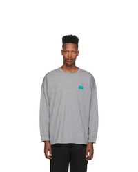 Opening Ceremony Grey Unisex Oc Long Sleeve T Shirt