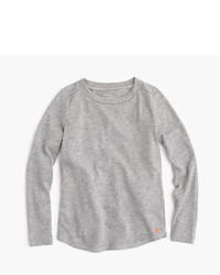 J.Crew Girls Supersoft Long Sleeve T Shirt