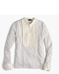 J.Crew Tuxedo Inspired Long Sleeve T Shirt