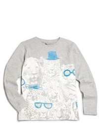 Stella McCartney Kids Toddlers Little Boys Barley Animal Graphic Long Sleeve Tee