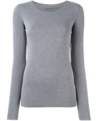 Roberto Collina Long Sleeve Jersey T Shirt