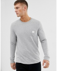 Esprit Long Sleeve T Shirt With Branded Pocket