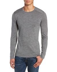 Icebreaker Oasis Long Sleeve Merino Wool Base Layer T Shirt