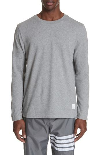 24d91c330711 Thom Browne Relaxed Fit Long Sleeve T Shirt, $520 | Nordstrom ...