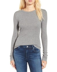 Ribbed long sleeve tee medium 6453665