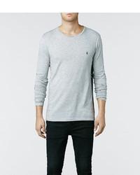 AllSaints Tonic Long Sleeved Crew T Shirt