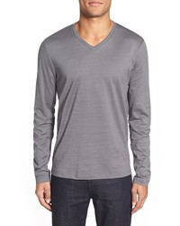Tyson v neck long sleeve t shirt medium 389200